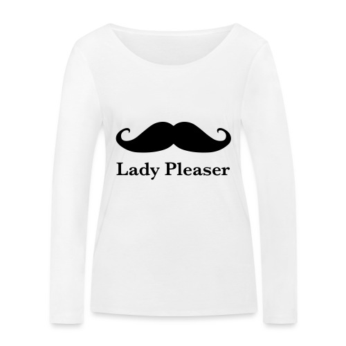 Lady Pleaser T-Shirt in Green - Women's Organic Longsleeve Shirt by Stanley & Stella
