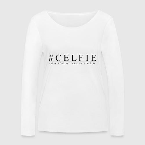 CELFIE - Økologisk Stanley & Stella langærmet T-shirt til damer