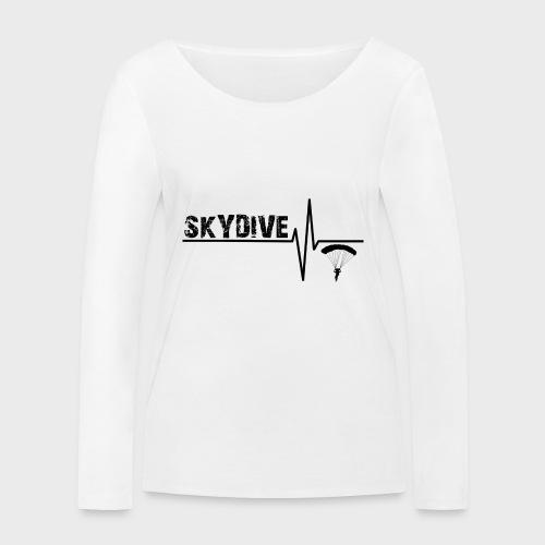 Skydive Pulse - Frauen Bio-Langarmshirt von Stanley & Stella