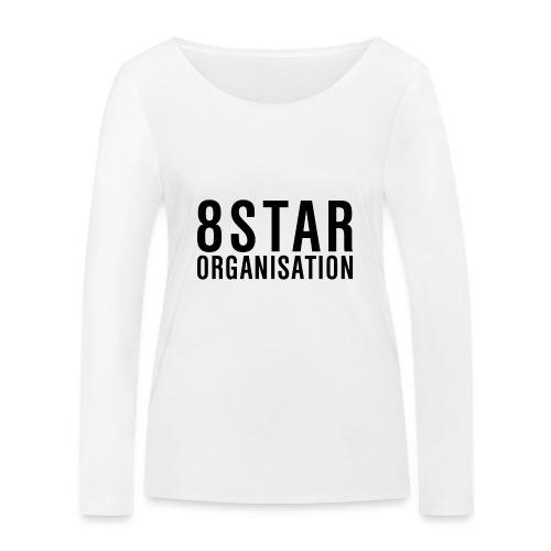 Eightstar Organisation Black Label - Frauen Bio-Langarmshirt von Stanley & Stella