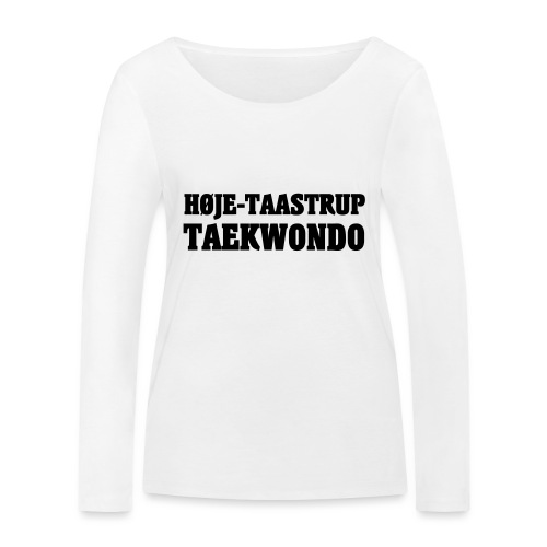 Høje-Taastrup Front Tryk - Økologisk Stanley & Stella langærmet T-shirt til damer