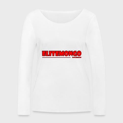 Elitemongo - Frauen Bio-Langarmshirt von Stanley & Stella