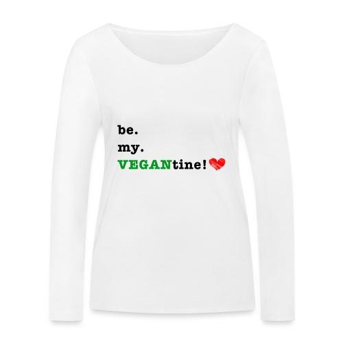 VEGANtine Green - Women's Organic Longsleeve Shirt by Stanley & Stella