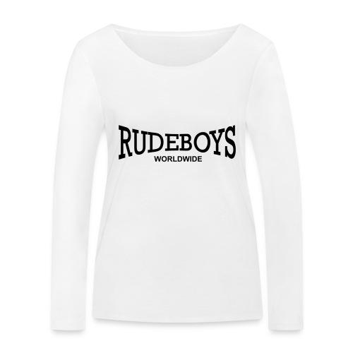 rudeboys_worldwide - Frauen Bio-Langarmshirt von Stanley & Stella