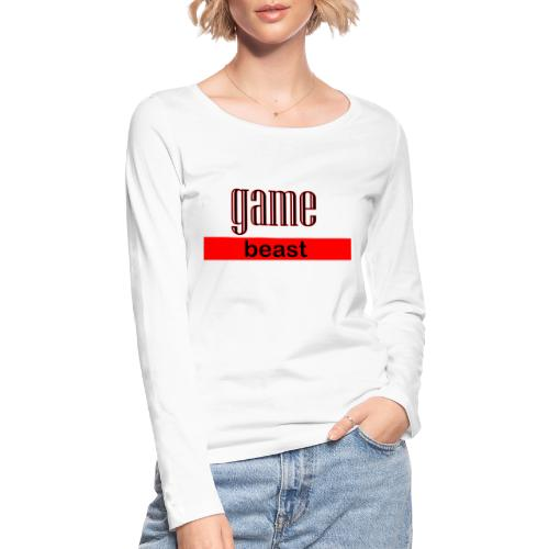 gamebeast - Vrouwen bio shirt met lange mouwen van Stanley & Stella