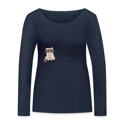 99 litle bugs of code - Vrouwen bio shirt met lange mouwen van Stanley & Stella
