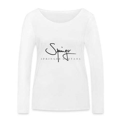 Logo Springer Guitars - T-shirt manches longues bio Stanley & Stella Femme