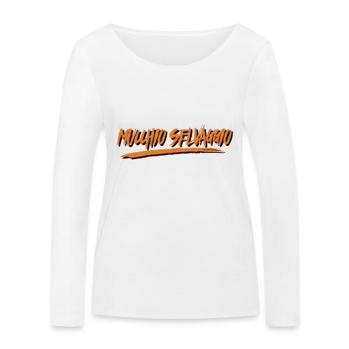 Mucchio Selvaggio 2016 Dirty Orange - Maglietta a manica lunga ecologica da donna di Stanley & Stella