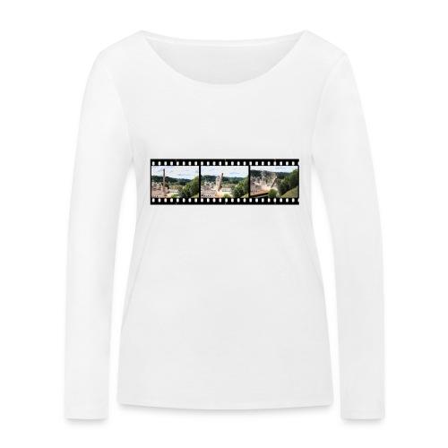 WanderKaminFall - Frauen Bio-Langarmshirt von Stanley & Stella