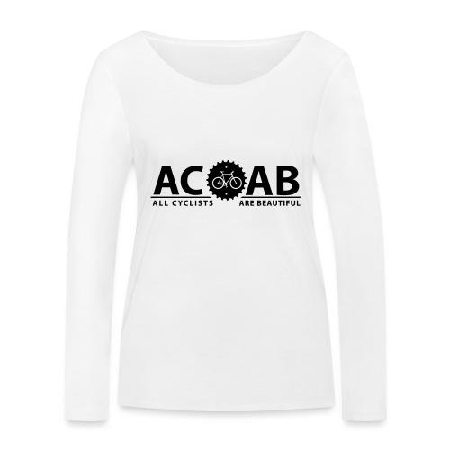 ACAB ALL CYCLISTS - Frauen Bio-Langarmshirt von Stanley & Stella
