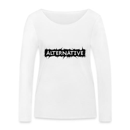 Spike T-shirt White - Ekologiczna koszulka damska z długim rękawem Stanley & Stella