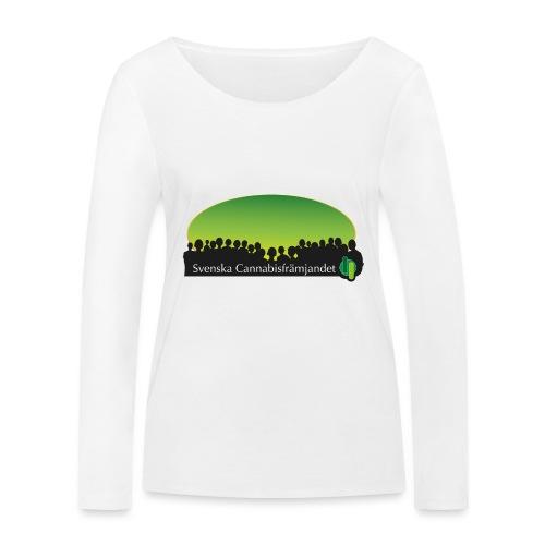 Svenska Cannabisfrämjandet - Ekologisk långärmad T-shirt dam från Stanley & Stella