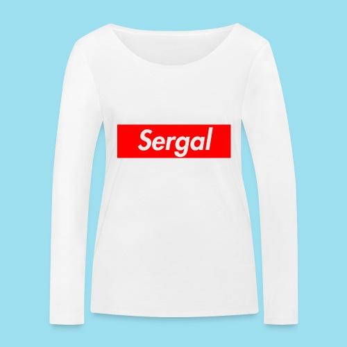 SERGAL Supmeme - Frauen Bio-Langarmshirt von Stanley & Stella