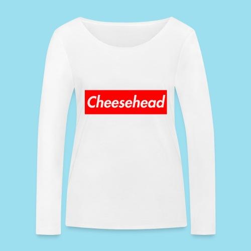 CHEESEHEAD Supmeme - Frauen Bio-Langarmshirt von Stanley & Stella