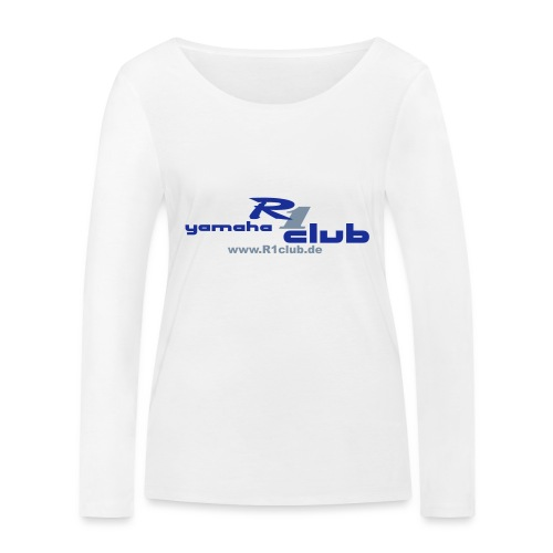R1club Logo blau - Frauen Bio-Langarmshirt von Stanley & Stella