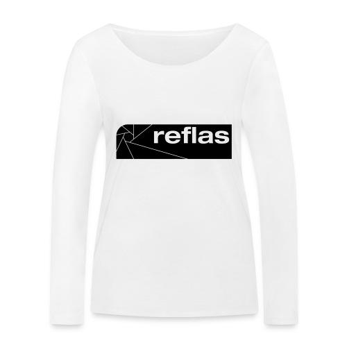 Reflas Clothing Black/Gray - Maglietta a manica lunga ecologica da donna di Stanley & Stella