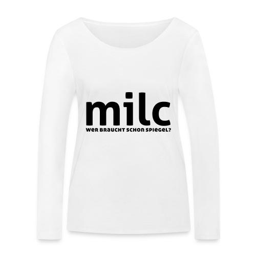 milc - Frauen Bio-Langarmshirt von Stanley & Stella
