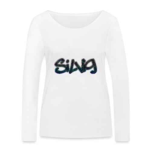 SilViG logo limited - Økologisk Stanley & Stella langærmet T-shirt til damer