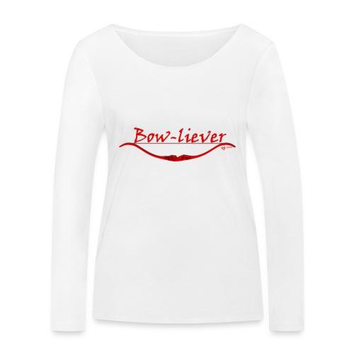 Bow-liever - Frauen Bio-Langarmshirt von Stanley & Stella