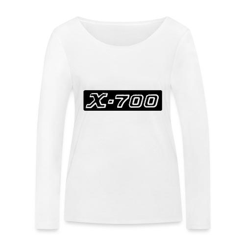 Minolta X-700 - Maglietta a manica lunga ecologica da donna di Stanley & Stella
