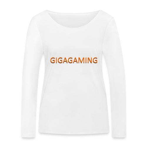 GIGAGAMING - Økologisk Stanley & Stella langærmet T-shirt til damer
