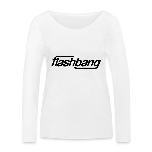 FlashBang Enkel - 50kr Donation - Ekologisk långärmad T-shirt dam från Stanley & Stella