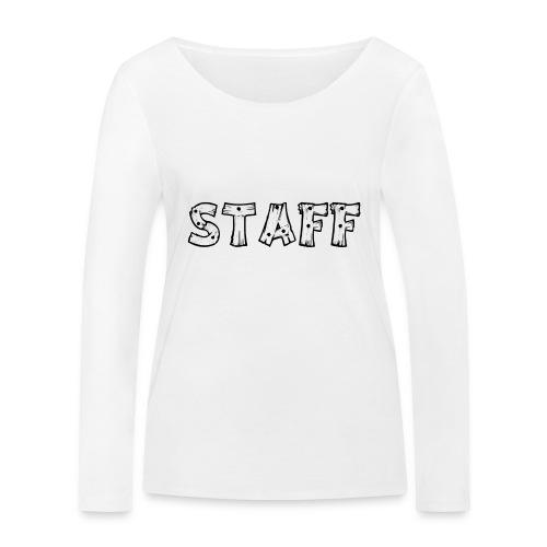 STAFF - Maglietta a manica lunga ecologica da donna di Stanley & Stella