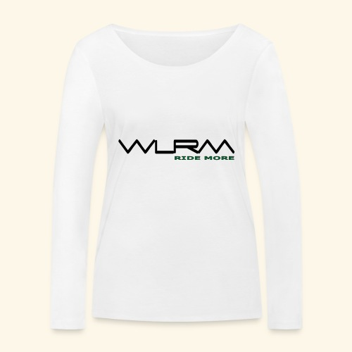 WLRM Schriftzug black png - Frauen Bio-Langarmshirt von Stanley & Stella