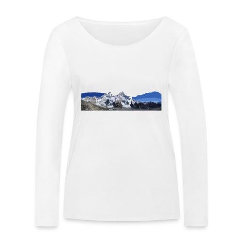 MOUNTAINS - Maglietta a manica lunga ecologica da donna di Stanley & Stella