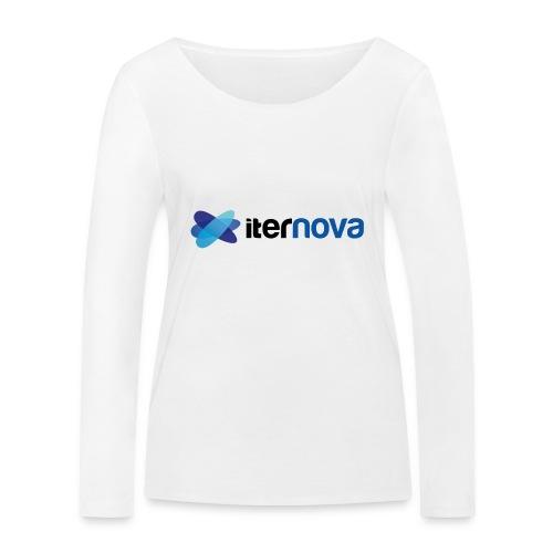 ITERNOVA - Camiseta de manga larga ecológica mujer de Stanley & Stella