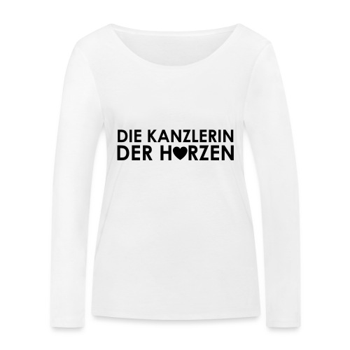Weltkanzlerin® Frauen Premium T-Shirt - Frauen Bio-Langarmshirt von Stanley & Stella