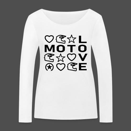 MOTOLOVE 9ML01 - Women's Organic Longsleeve Shirt by Stanley & Stella