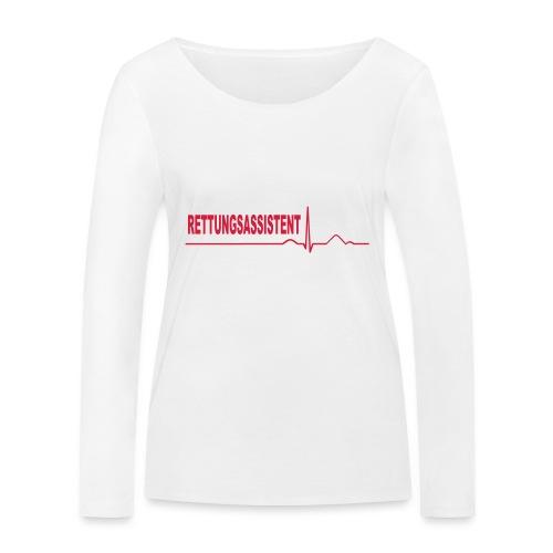 Rettungsassistent - Frauen Bio-Langarmshirt von Stanley & Stella