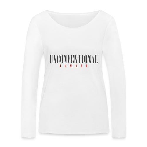 Unconventional Lawyer - T-shirt per avvocati (men) - Women's Organic Longsleeve Shirt by Stanley & Stella