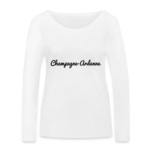 Champagne-Ardenne - Marne 51 - T-shirt manches longues bio Stanley & Stella Femme