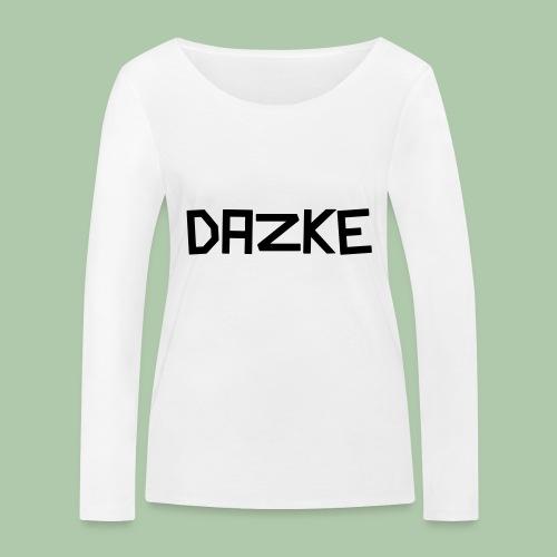 dazke_bunt - Frauen Bio-Langarmshirt von Stanley & Stella