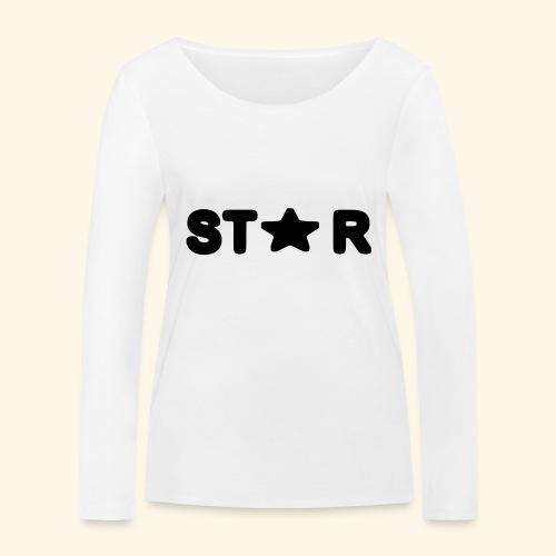 Star of Stars - Women's Organic Longsleeve Shirt by Stanley & Stella