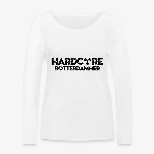 Hardcore Rotterdammer - Vrouwen bio shirt met lange mouwen van Stanley & Stella