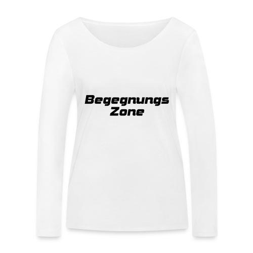 Begegnungszone - Frauen Bio-Langarmshirt von Stanley & Stella