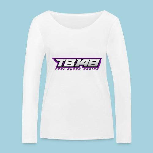 Tob Logo Lila - Frauen Bio-Langarmshirt von Stanley & Stella