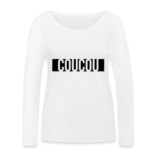 Coucou [1] Black - T-shirt manches longues bio Stanley & Stella Femme