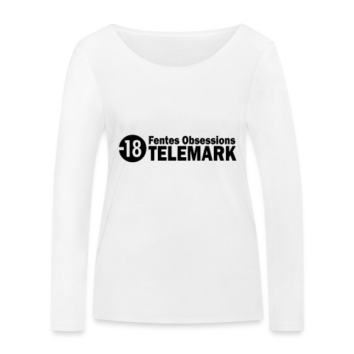 telemark fentes obsessions18 - T-shirt manches longues bio Stanley & Stella Femme