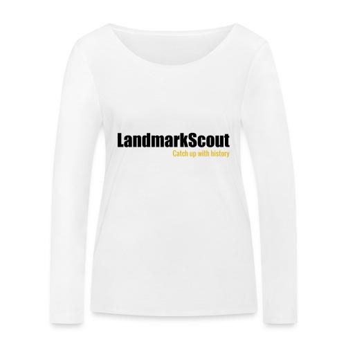 Tshirt White Back logo 2013 png - Women's Organic Longsleeve Shirt by Stanley & Stella