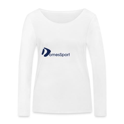 Logo DomesSport Blue noBg - Frauen Bio-Langarmshirt von Stanley & Stella
