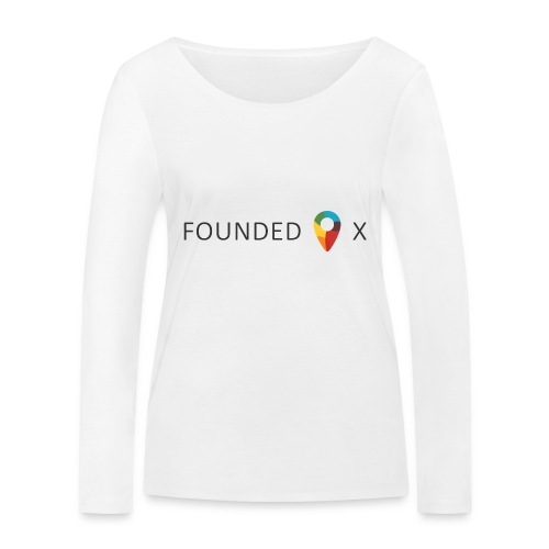 FoundedX logo png - Women's Organic Longsleeve Shirt by Stanley & Stella