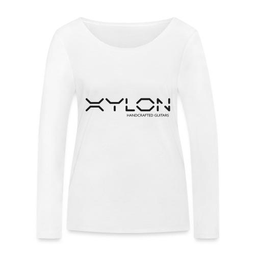Xylon Handcrafted Guitars (plain logo in black) - Women's Organic Longsleeve Shirt by Stanley & Stella