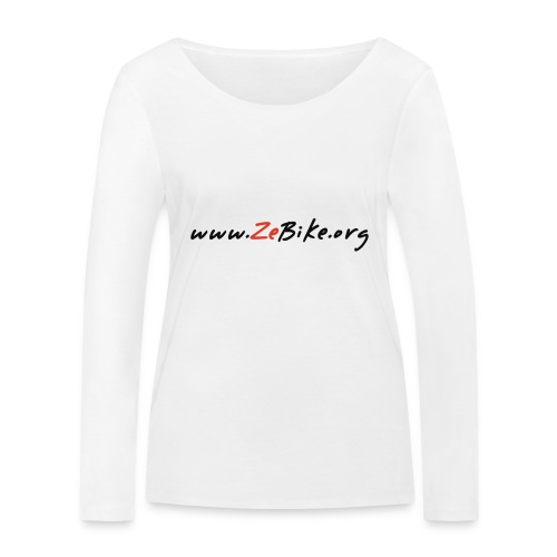 wwwzebikeorg s - T-shirt manches longues bio Stanley & Stella Femme