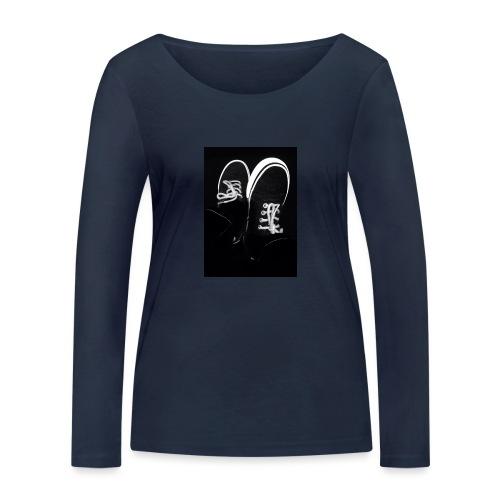 Walk with me - Women's Organic Longsleeve Shirt by Stanley & Stella