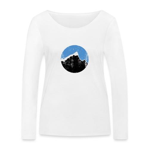 Årgangs - Økologisk langermet T-skjorte for kvinner fra Stanley & Stella
