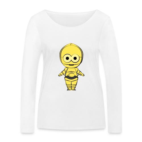 C-3PO - T-shirt manches longues bio Stanley & Stella Femme